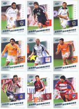 """30 CARD GOAL SCORERS SET"" UD MLS SOCCER 2008"