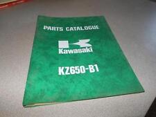 OEM Kawasaki 1976 KZ650 LTD Twin Parts Catalog