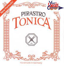 New Tonica Violin String Set with Steel E Loop End
