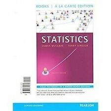 Statistics, Books a la Carte Edition by Terry T. Sincich and James T. McClave...
