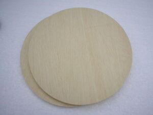 Holzscheiben rund Sperrholz Furnier Flechtboden /8 mm stark /verschiedene Größen