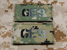 Infra Red AOR2 Call Sign Patch Set - GE9 SEAL NSWDG DEVGRU ST6 Zero Dark Thirty
