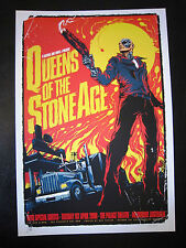QUEENS OF THE STONE AGE MELBOURNE 08 CONCERT POSTER ART KEN TAYLOR 2nd EDITION