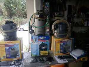 filtri acquario tetra e sera, funzionanti, pezzi di ricambio