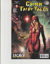 Grimm Fairy Tales Volume 2 #1 Cover A Legacy Zenescope Comic GFT NM Finch
