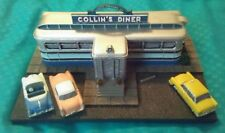 Danbury Mint Collin's Diner North Canaan CT Figurine Classic American