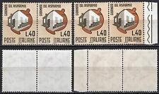 #747 - Repubblica - 40 lire Giornata risparmio, 1965 - Nuovi (** MNH) / Varietà