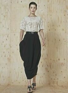 JUPE HIGH USE HIGH TECH BY CLAIRE CAMPBELL EX GIRBAUD FORME TULIPE