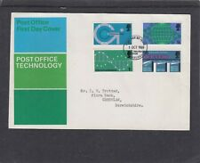 GB 1969 Post Office Technology First Day Cover FDC Edinburgh Phil Bureau fdi h/s