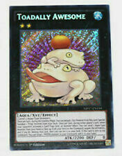 Yugioh Toadally Awesome Mp17-en150 Secret RARE 1st Edition