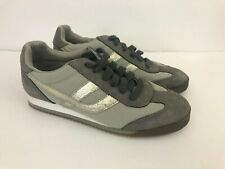 American Eagle women's tennis shoes Ae Victory fitness grey and silver size 7