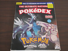 The Ultimate National Pokedex Diamond and Pearl Version Official Nintendo Guide