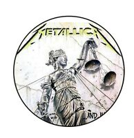 Parche imprimido /Iron on patch, Back patch, Espaldera / - Metallica, D
