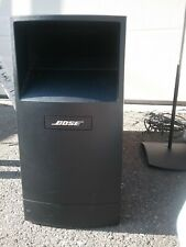 New listing Bose Acoustimass 16 Home Theatre Sys.double cube speakers w stands wiring incl.
