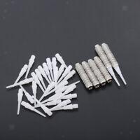 6 pezzi di barili di freccette con punta morbida 7 g con set da 30 pezzi di