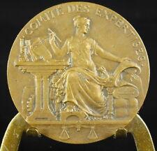 Médaille Loi 27 juillet 1822 A Pateay sc comité des expertises 33 mm Medal