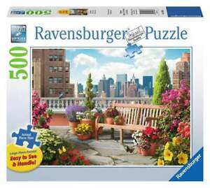 Ravensburger - Rooftop Garden Jigsaw Puzzle 500pc Large Format