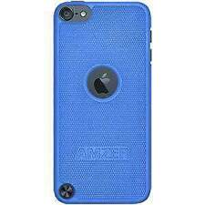 AMZER BLUE SNAP ON HARD SHELL BACK CASE COVER FOR APPLE IPOD TOUCH 5TH GEN