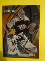 2002-03 IN THE GAME MIKE DUNHAM SIGNATURE SERIES AUTOGRAPHED CARD