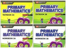 Primary Mathematics Grade 3 Kit (Common Core ED)-Workbooks 3A+3B,Textbooks 3A+3B