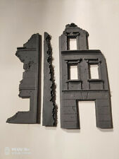 1/72  resin diorama  building ruins  - old Mig production