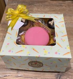 Birthday Cupcake Treat Dog Gift Box, Handmade Chocs, Scone Cakes, & Macaroon Toy
