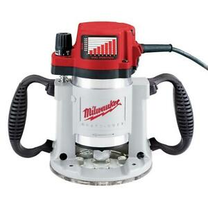 Milwaukee 5625-20 120V AC 3-1/2 Max HP Fixed-Base Production Router w/ Collet