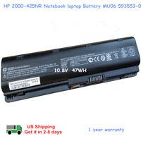 New OEM Genuine for HP 2000-425NR Notebook laptop Battery CQ42 MU06 593553-001