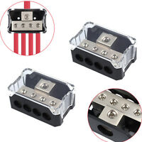 2 Power Distribution Block 1/0 gauge in to 4 gauge out SPDP-1044 Platinum Series