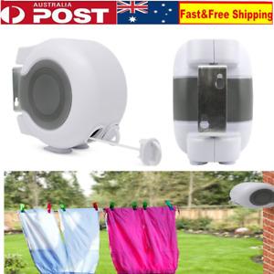 Retractable Clothesline Heavy Duty Clothes Dryer Indoor/Outdoor Laundry Hanger