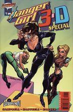 DANGER GIRL 3-D SPECIAL #1 Wildstorm Comics Cliffhanger J. SCOTT CAMPBELL! RARE!