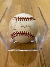 Greg Maddux autographed OML Baseball (JSA COA)