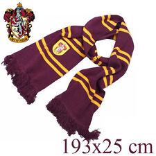 Harry Potter Hogwarts Sciarpa dei grifondoro GRYFFINDOR+OMAGGIO SPILLA SCARF