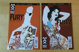 Fury: My War Gone By #1 #2, Lot of 2 Unread Marvel Max Explicit 2012 Comics