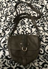 Preowned Authentic Cole Haan Leather Green Small  cross body Excellent Condition