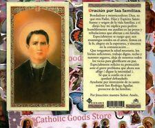 San Rodrigo Aguilar - Oracion por las Familias - Spanish - Laminated Holy Card