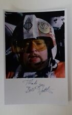 """STAR WARS - Male Actor William Bill Hootkins 6""""X4"""" Autograph Reprint Colour Pic"""