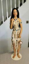 Ashton Drake Native American Indian Doll Vintage Porcelain Pocahontas? Disney?