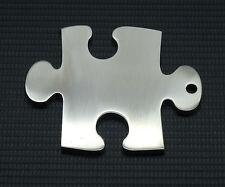 Jigsaw keyring key-chain  porte-clés Schlüsselanhänger thick