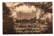 Powis Castle - Welshpool Photo Postcatd c1910