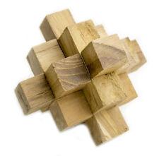 Puzzle de madera atomo juego de inteligencia Juegos de Mano Rompecabezas 3D