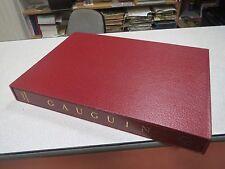 PAUL GAUGUIN ROBERT GOLDWATER NOUVELLES EDITIONS FRANCAISES COFFRET *