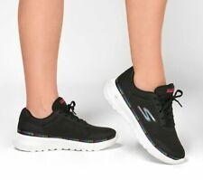 Skechers Women's GOwalk Joy Magnetic Sneaker Black/Multicolor Sz 8.5 124088