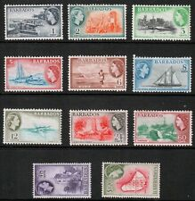 Barbados QEII 1953 Part Set SG289/300 Mint Hinged MH