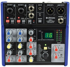 More details for citronic csd-4 compact mixers with bt and dsp effects