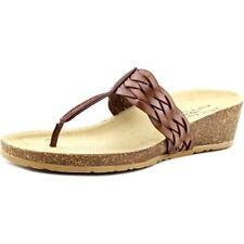 Sandalias y chanclas de mujer marrón Easy Street sintético