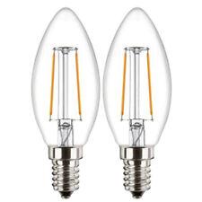 2x ATTRALUX LED Lámpara de velas CL B35 E14 Filamento WW 2.1w sustituido 25w