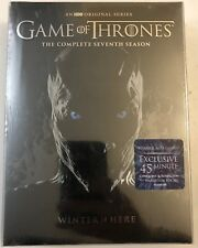 NEW GAME OF THRONES SEVENTH SEASON DVD 5 DISC SET + BONUS DISC CONQUEST & REBELL