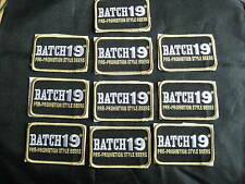 10 PC BATCH 19 PRE-PROHIBITION STYLE BEERS BREWERY PATCH BADGE LOT