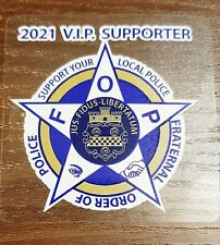 Fop 2021 Supporter Decal Stickers